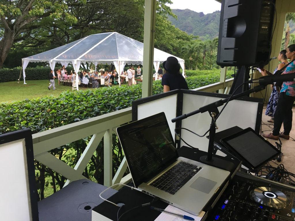 kualoa molii wedding djnatehawaii.com
