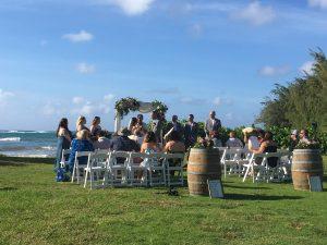 Loulu Palm wedding ceremony service