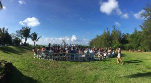 Loulu Palm wedding ceremony DJ
