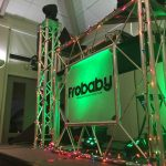 Pearl Country Club Christmas DJ booth