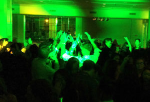 pc hands up at NYE dance web