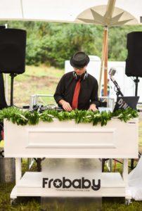 Kualoa Ranch Wedding DJ at Jumanji site