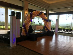 koolau ballrooms dj setup for party