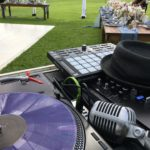 Beach wedding DJ at outdoor wedding in Kapolei