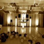 Sepia tone theme for wedding DJ